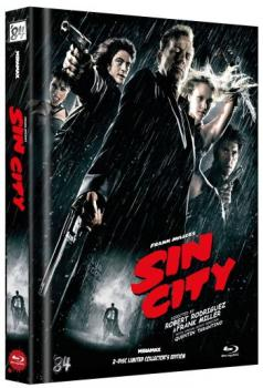 Sin City - Uncut Mediabook Edition  (blu-ray) (G)