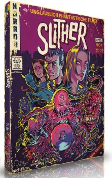 Slither - Uncut Mediabook Edition  (DVD+blu-ray)