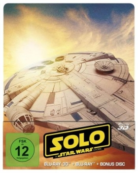 Solo - A Star Wars Story 3D - Limited Steelbook Edition  (3D blu-ray)