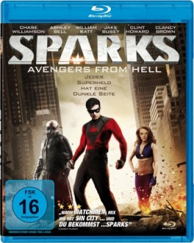 Sparks - The Origin of Ian Sparks  (blu-ray)