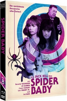 Spider Baby - Drive-In Classics Vol. 08  (DVD+blu-ray)