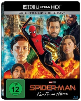 Spider-Man: Far from Home - Limited Steelbook Edition  (4K Ultra HD)