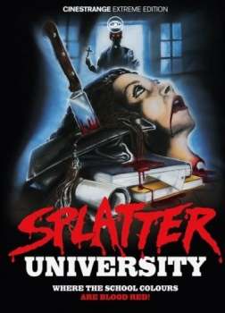 Splatter University - Uncut Mediabook Edition  (DVD+blu-ray) (C)
