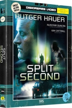 Split Second - VHS Design Edition - Uncut Mediabook Edition (DVD+blu-ray)