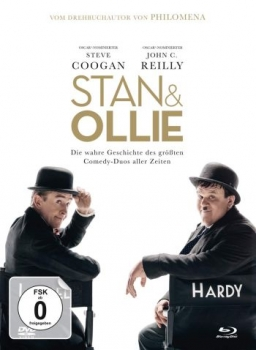 Stan & Ollie - Limited Mediabook Edition (DVD+blu-ray)