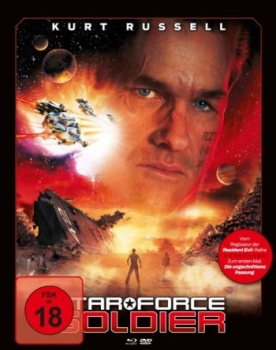 Star Force Soldier - Uncut Mediabook Edition  (DVD+blu-ray) (A)