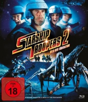 Starship Troopers 2 - Held der Föderation - Uncut Edition  (blu-ray)