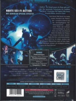 Starship Troopers 2: Held der Föderation - Uncut Mediabook Edition (DVD+blu-ray) (B)
