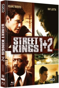 Street Kings 1+2 - Uncut Mediabook Edition  (DVD+blu-ray)