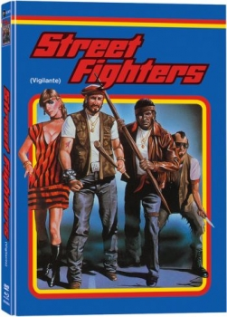 Street Fighters - Vigilante - Uncut Mediabook Edition (DVD+blu-ray) (A)