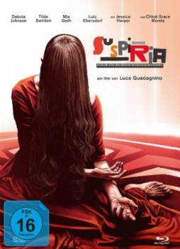 Suspiria (2018) - Limited Mediabook Edition  (DVD+blu-ray) (B)