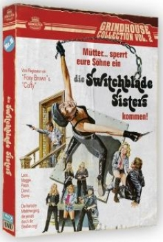 Switchblade Sisters - Die Bronx-Katzen - The Grindhouse Collection 2  (DVD+blu-ray)