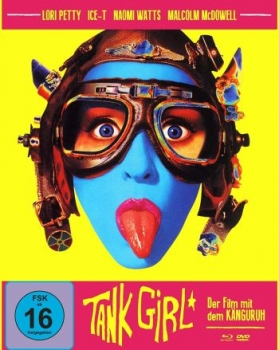 Tank Girl - Limited Mediabook Edition  (DVD+blu-ray) (A)