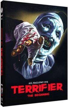 Terrifier - The Beginning - All Hallows Eve - Uncut Mediabook Edition  (DVD+blu-ray) (D)