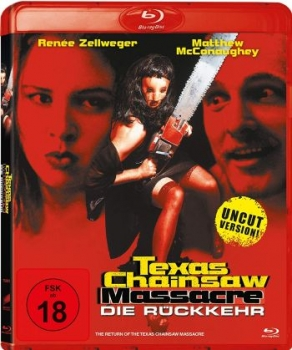 Texas Chainsaw Massacre: Die Rückkehr - Uncut Edition  (blu-ray)