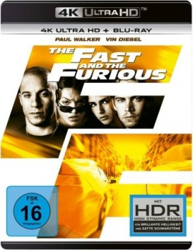Fast and the Furious, The (4K Ultra HD)