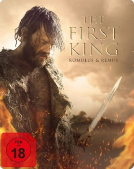 First King, The - Romulus & Remus - Uncut Steelbook (blu-ray)