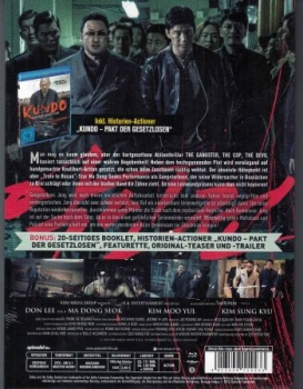 Gangster, The Cop, The Devil, The - Uncut Mediabook Edition (blu-ray)