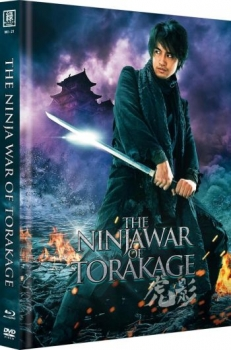 Ninja War of Torakage, The - Uncut Mediabook Edition (OmU)  (DVD+blu-ray) (A)