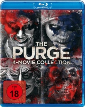 Purge, The - 4-Movie-Collection (blu-ray)