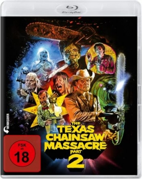 Texas Chainsaw Massacre 2, The - Uncut Edition (blu-ray)