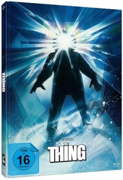 Thing, The - Uncut Mediabook Edition  (DVD+blu-ray) (Cover A#Struzan)