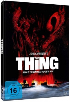Thing, The - Uncut Mediabook Edition  (DVD+blu-ray) (Cover B#Edwards)