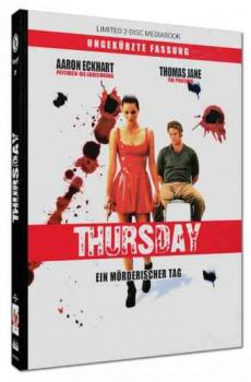 Thursday - Ein mörderischer Tag - Uncut Mediabook Edition  (DVD+blu-ray)