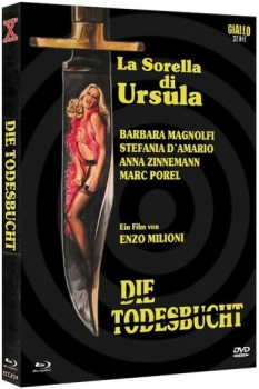 Todesbucht, Die - Eurocult Mediabook Collection  (DVD+blu-ray) (A)