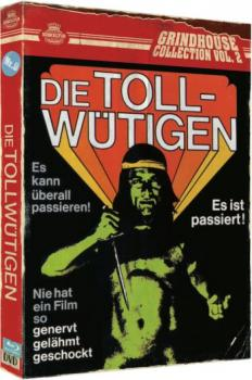 Tollwütigen, Die - The Grindhouse Collection  (DVD+blu-ray)