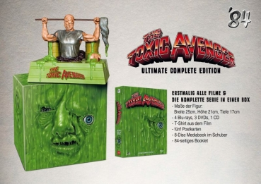 Toxic Avenger, The - 8-Disc Ultimate Complete Edition  (DVD+blu-ray)
