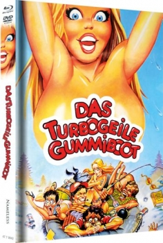 Turbogeile Gummiboot, Das - Limited Mediabook Edition (DVD+blu-ray) (Cover B - Original)