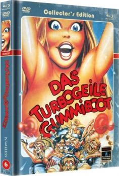 Turbogeile Gummiboot, Das - Limited Mediabook Edition (DVD+blu-ray) (Cover C - Retro)