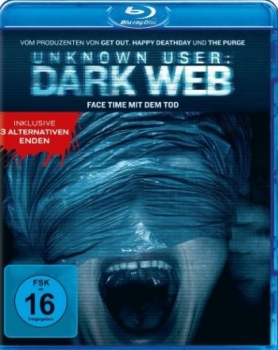 Unknown User: Dark Web  (blu-ray)