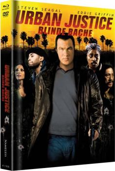 Urban Justice - Blinde Rache - Uncut Mediabook Edition  (DVD+blu-ray) (Cover Gelb)