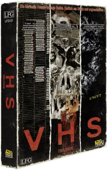 V/H/S - VHS - Trilogie - Uncut VHS Look Edition  (blu-ray)