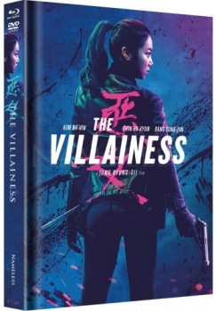Villainess, The - Uncut Mediabook Edition (DVD+blu-ray) (Cover Blue)