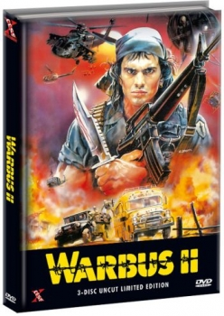 Warbus 2 - The Last Warbus - Triple War Pack - Uncut Mediabook Edition