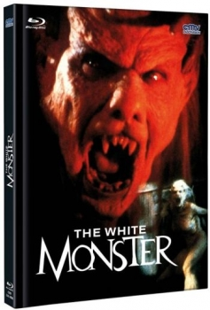 White Monster, The - Uncut Mediabook Edition  (DVD+blu-ray) (A)