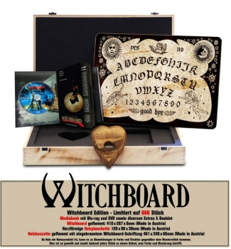 Witchboard - Die Hexenfalle - Uncut Board Edition  (DVD+blu-ray)