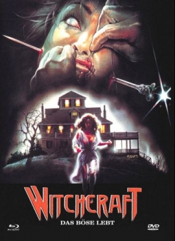 Witchcraft - Das Böse lebt - Eurocult Mediabook Collection  (DVD+blu-ray) (A)