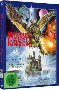 Wizards of the Lost Kingdom - Limited Mediabook Edition  (DVD+blu-ray)