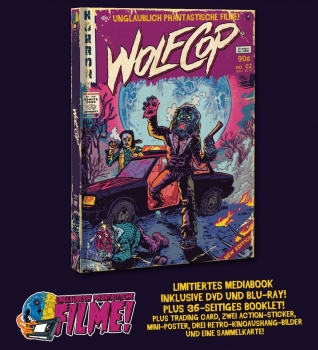 WolfCop - Limited Mediabook Edition (DVD+blu-ray) (C)