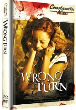 Wrong Turn - Uncut Mediabook Edition  (DVD+blu-ray) (Cover Retro)