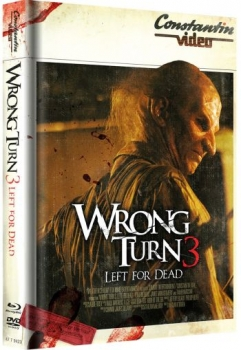 Wrong Turn 3 - Left for Dead - Uncut Mediabook Edition  (DVD+blu-ray) (Cover Retro)