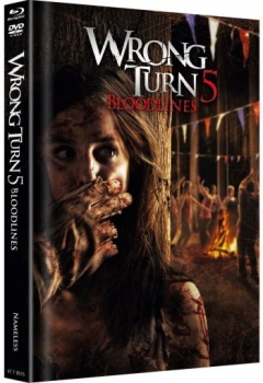 Wrong Turn 5 - Bloodlines - Uncut Mediabook Edition  (DVD+blu-ray) (Cover Orginal)