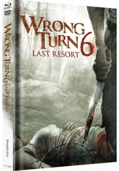 Wrong Turn 6 - Last Resort - Uncut Mediabook Edition  (DVD+blu-ray) (Cover Original)