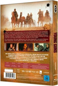 Young Guns - Uncut Mediabook Edition  (DVD+blu-ray) (D)
