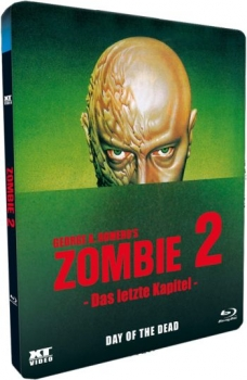 Zombie 2 - Day of the Dead - Uncut Metalpak Edition  (blu-ray)