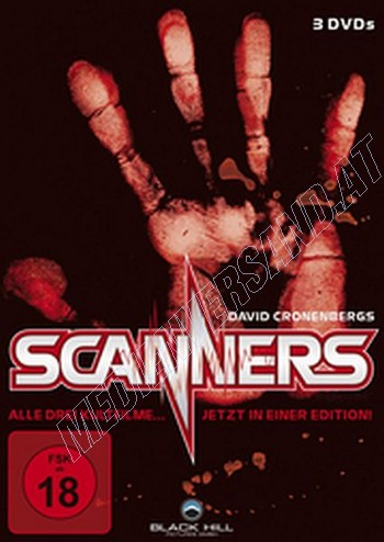 Scanners 1-3 Box - Uncut!